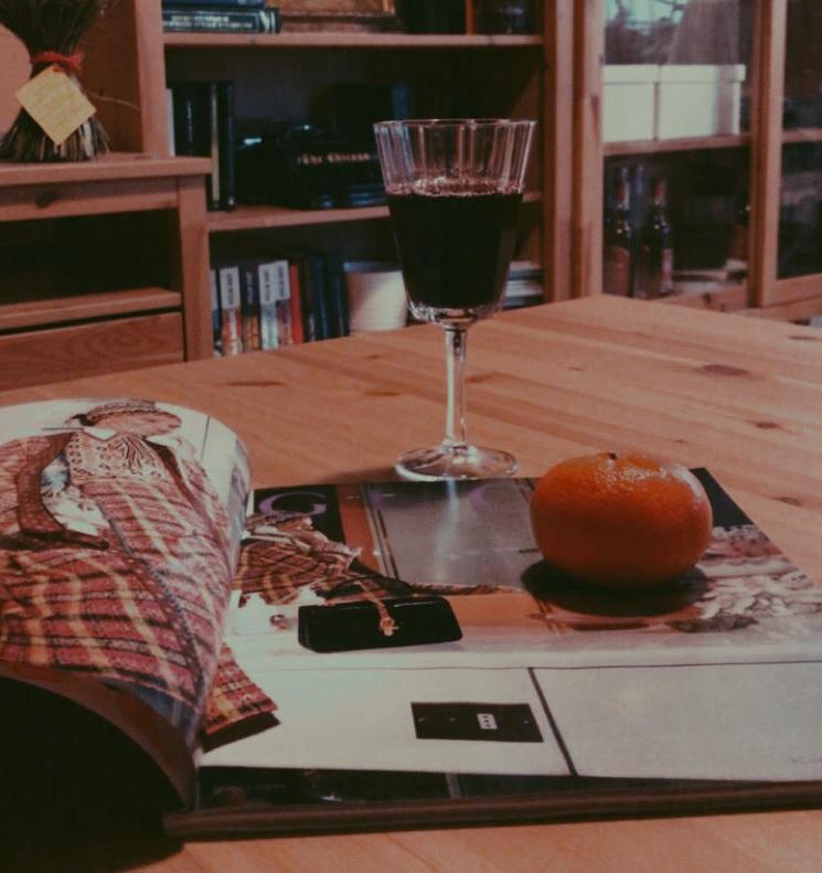 Вино и мастило (20) Портокал дом